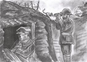 WW1 Cartoon by tuomaskoivurinne