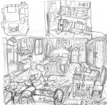 Kid room by Spizzina00