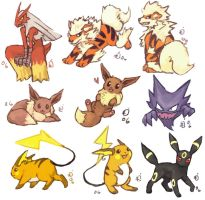 Pokemon collage 5 by emlan