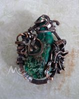 Overture Brooch by motemanikabeads