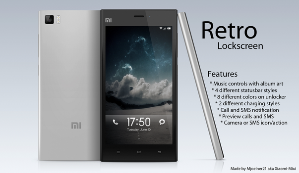 Retro Lockscreen Updated by Xiaomi-MIUI