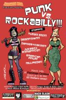 Punk vs Rockabilly by sergicr