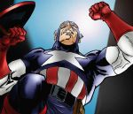 Captian America Colored by trigun-knives009