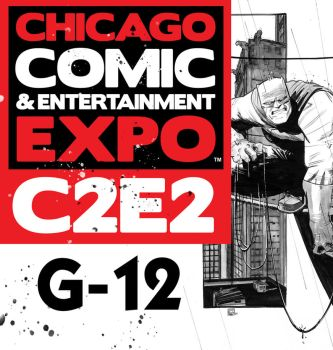 I'll be at C2E2! by Stephen-Green