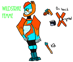 TFA OC: Wildstrike Reference by EllaScout