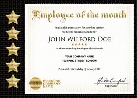 Business and Company Certificates by ShermanJackson