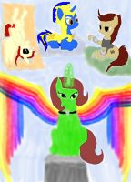 my mlp knights by daylover1313