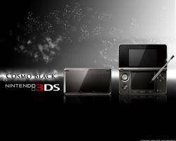 Nintendo 3DS Wallpaper Black by Chop-StiXz