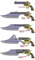 Gunblade diagrams by Sam-Hall