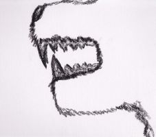 Snarling Jaws by kazza-san