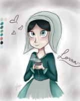 sweet cute and precious Lorna by noodle-chuu