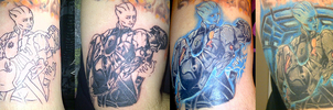 ME: Sacrifice Tattoo (Progress and Completion) by suicidebyinsecticide