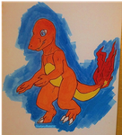 Day 1: Charmander by SludgeyMonster