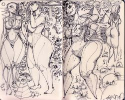 sketchbook2014 - 5 by biz20