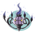 Chandelure by RoseChildD