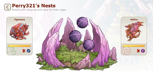 Tigerears and Nafisa's Nest by perry321