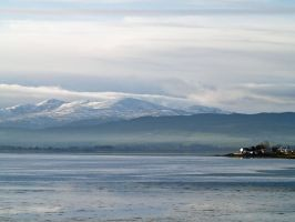 Snow over the Beauly Firth by piglet365
