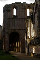 Abbey Cloisters.. by quaddie