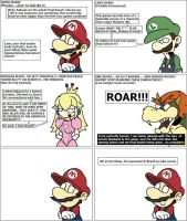 Brawl interviews- Mario series by The-DCE