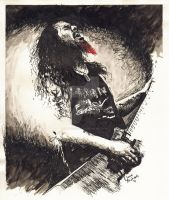 Dimebag Darrell by NateMichaels
