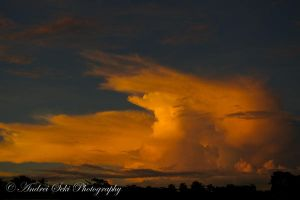 Sunset Thunderstorms by andrei-seki
