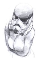 freezing stormtrooper by JUSTINQ88