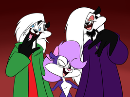 Fifi and the Mofetas [REMAKE] by MysteryFanBoy718