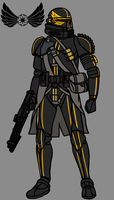 101st Airborne Clone Paratrooper by PD-Black-Dragon