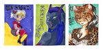 Badge Raffle Contest Winners. by divi
