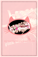 The Pink Meow by solusauroraborealis