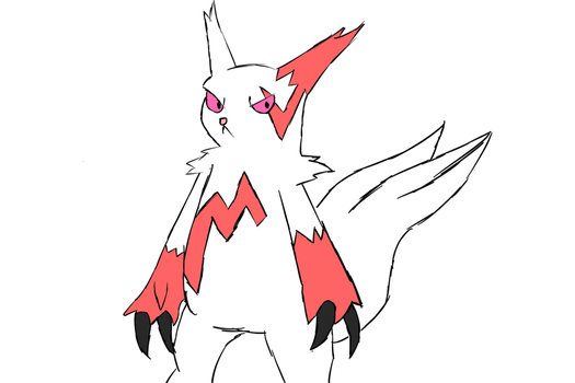 Zangoose by flyntnsteal