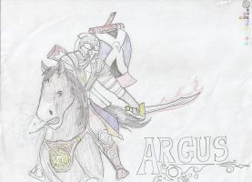 Argus the wonderful II by shadowshot9