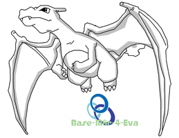 Charizard Flying by Base-m8r-4-eva