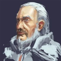 Ser Barristan Sketch by Pablocomics