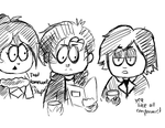 SP OCs=Goths from 6th grade by Panjia
