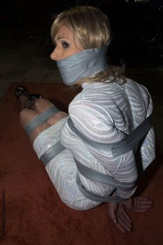 Captive in Duct Tape by sandragibbons