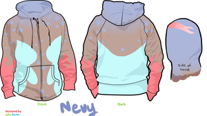Nevy hoodie by disconsolance