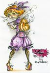 Mary Pumpkin Back to School by kamarza