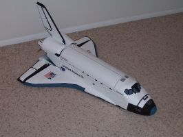 R.C. Space Shuttle 01 by GrummanCat