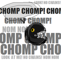 Chain Chomp Chainless by shiyonin