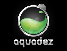 AQUADEZ logo by alezzacreative