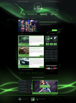 AETERNUM Gaming layout and logo - SOLD by inn21