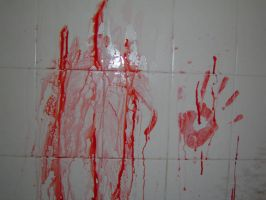 Slaughter In The Shower II by Wahreoh