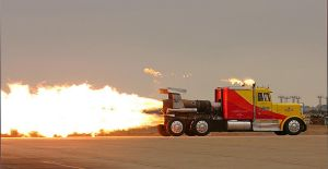 Jet Powered truck by Blathering