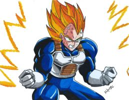 Super Vegeta by MikeES