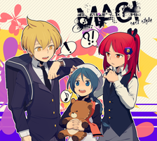 Magi :: Suit style by Cartooom-TV