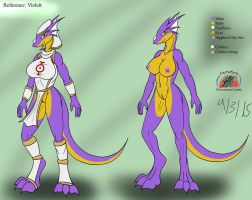 Violett reference (revisit) by Snowfyre