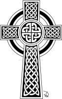 Celtic Cross Tat for Kris by purplepixi