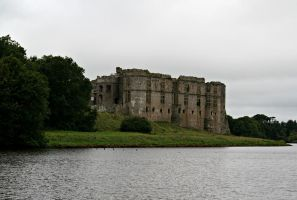 Carew Castle, Pembrokeshire by OghamMoon