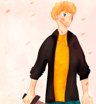 Luke Castellan by GreeneFlygon